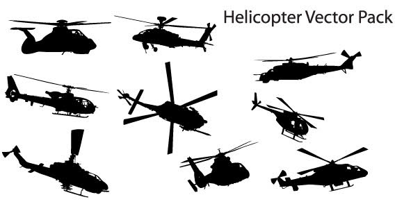 568x294 Free Helicopter Vector Pack Psd Files, Vectors Amp Graphics