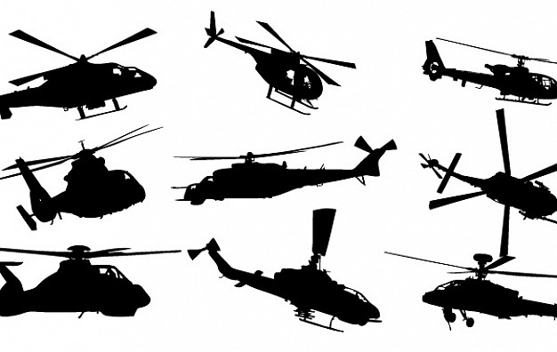 626x396 Helicopter Vector Pack Vector Free Download