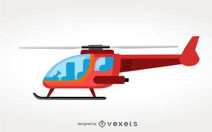 416x260 Helicopter Silhouette Set