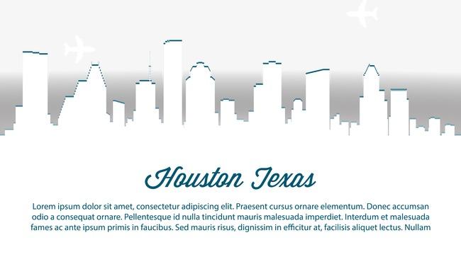 650x380 Houston City Vector Illustration, Houston City, City, Vector Png