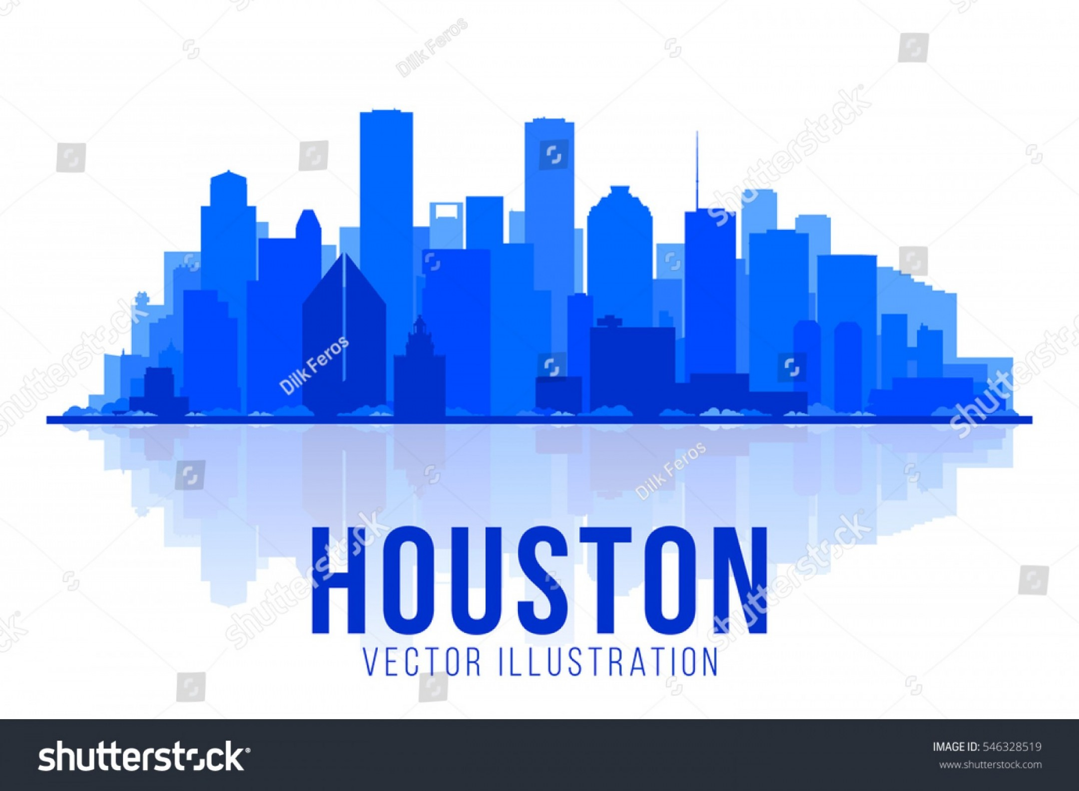 2160x1585 Houston Texas Silhouette Vector Illustration Main Arenawp