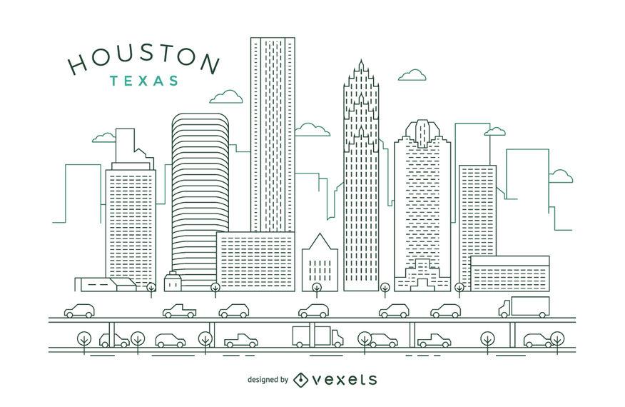 876x570 Houston Stroke Skyline