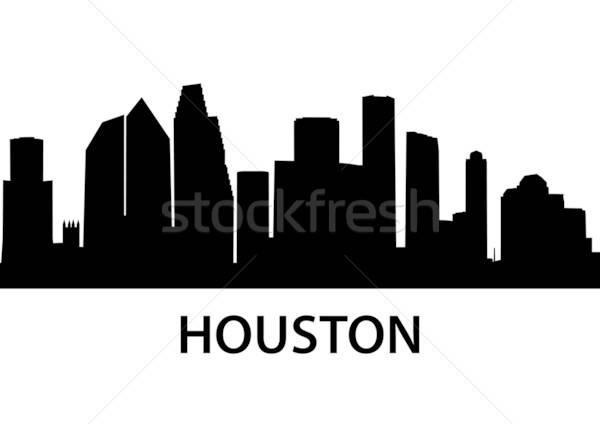600x424 Skyline Houston Vector Illustration Felix Pergande (Unkreatives