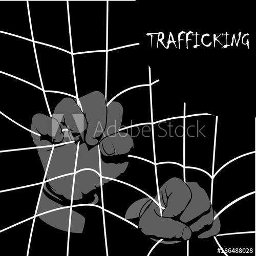 500x500 Human Trafficking Awareness Day, Four Type Illustration Of Human