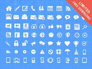 300x225 500 Vector Mega Icon Pack Graphicburger