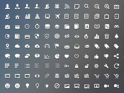 400x300 Impressionist Vector Icons Pack (More) By Sergey Shmidt