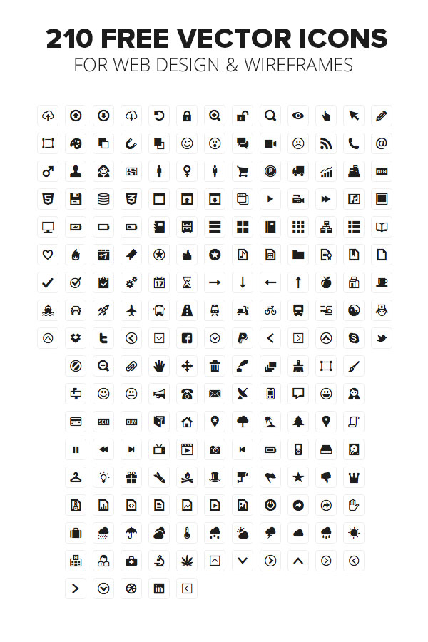 600x900 Minicons Free Vector Icons Pack By Webalys Photoshop Tutorials