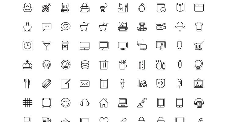 750x400 Top 50 Free Icon Sets From 2014