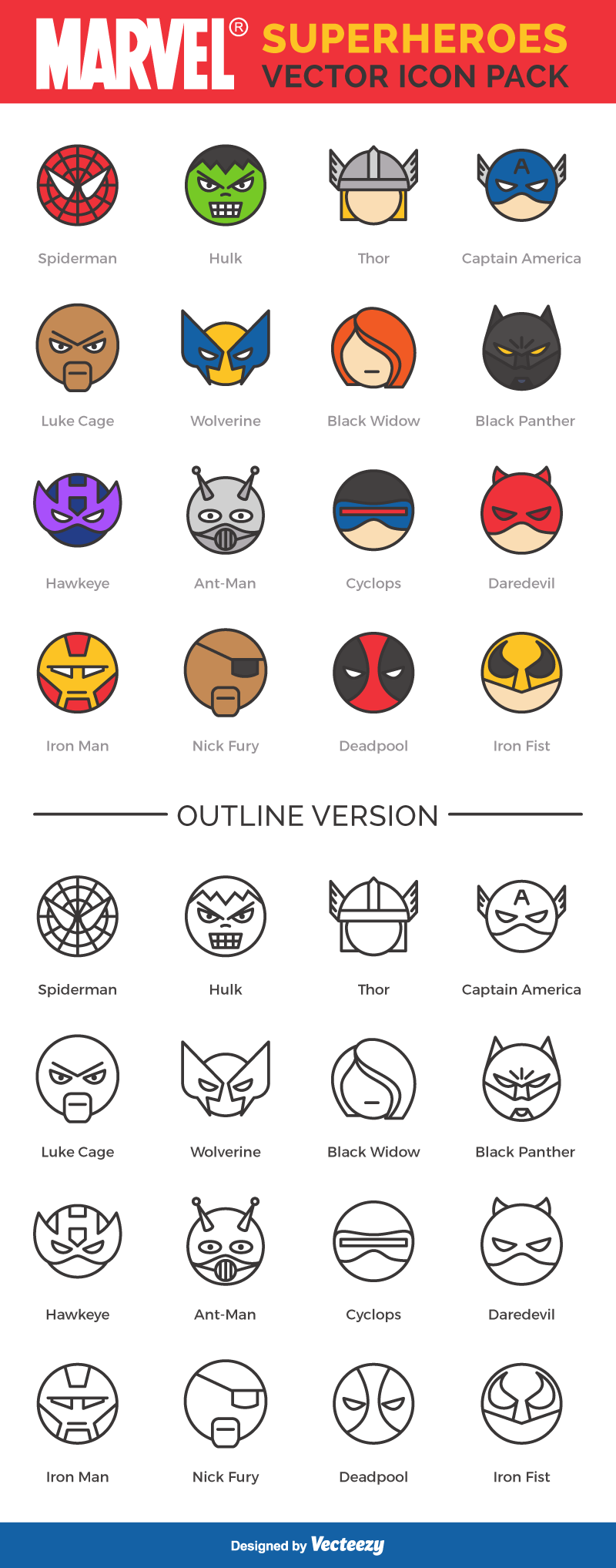 800x2035 Free Icon Set Star Wars And Marvel Superheros One
