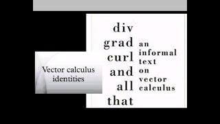 320x180 Vector Calculus Identity