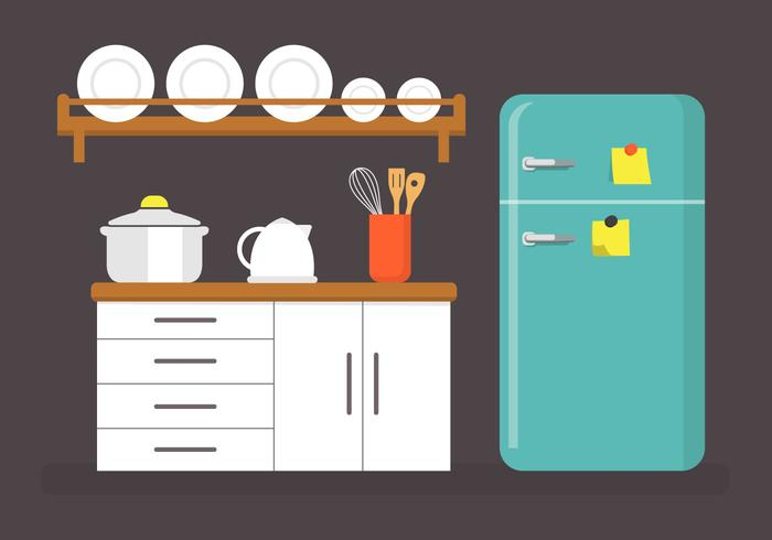 700x490 Kitchen Free Vector Art