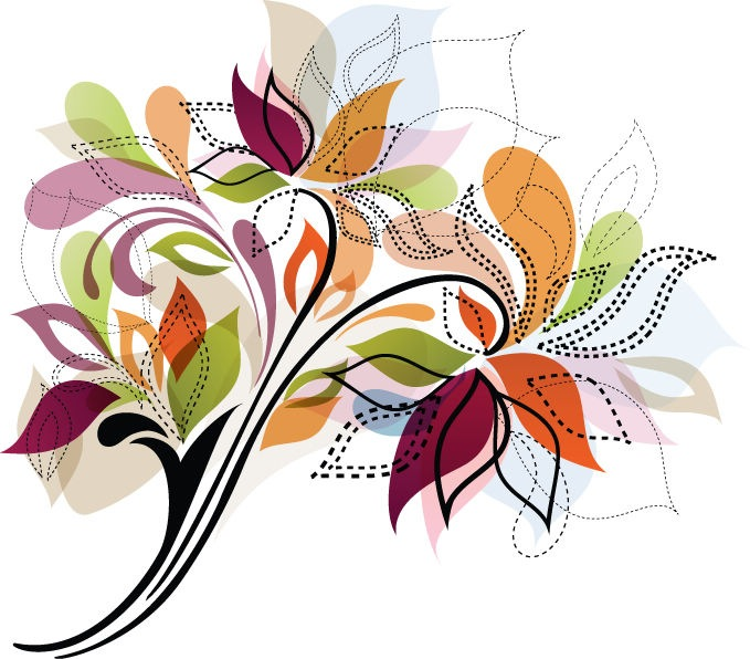 679x596 Graphic Design Flower Images Flower Design Element Vector