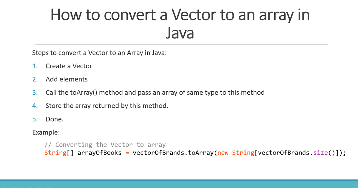 1200x630 How To Convert Vector To Array In Java 2 Examples Java67