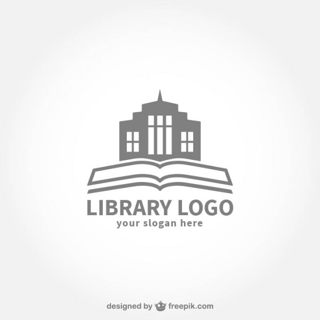 626x626 Library Logo Vector Free Download