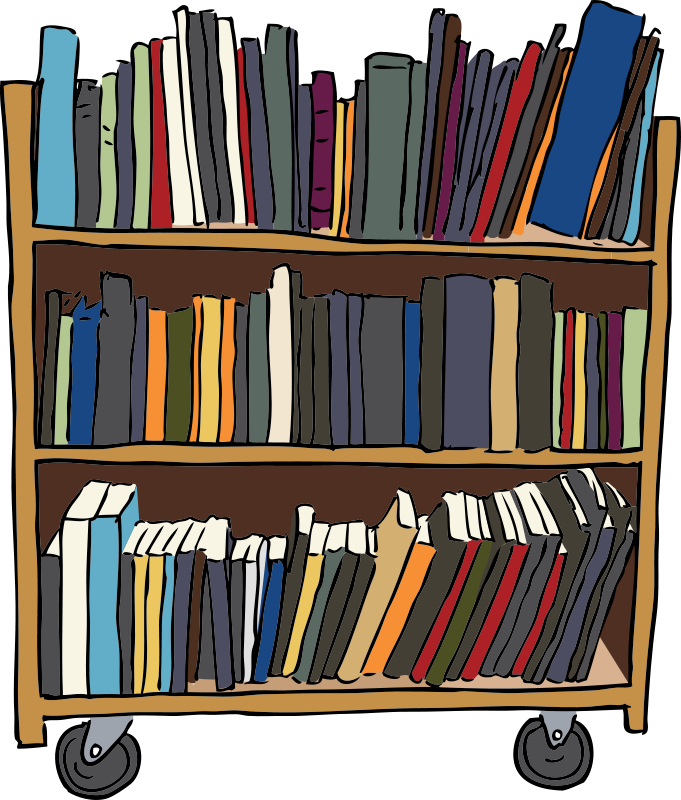681x800 Collection Of Free Vector Book Library. Download On Ubisafe