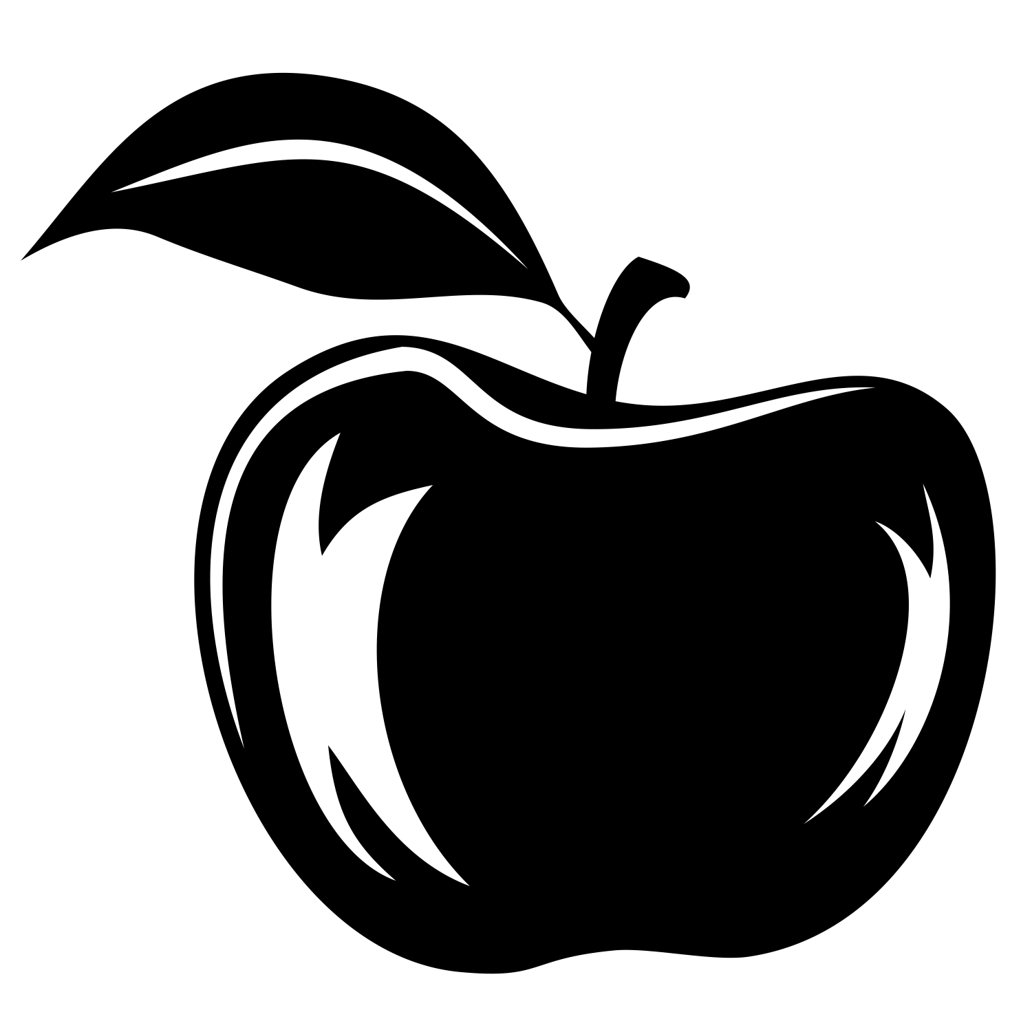 1500x1500 Vector For Free Use Apple Vector
