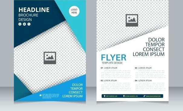 605x368 Brochure Free Vector Download For Commercial Use With Graphic