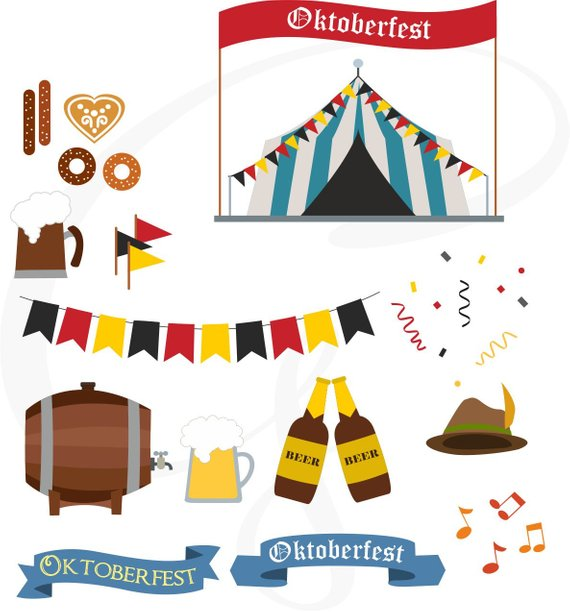 570x613 Oktoberfest, Vector Oktoberfest, Clipart Commercial Use