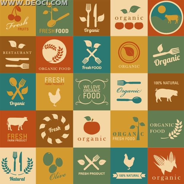 620x622 25 Vintage Agricultural Label Design Vector Eps Free Download