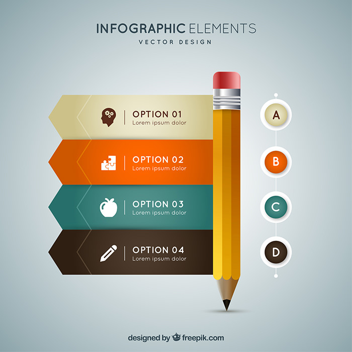 700x700 40 Free Infographic Templates To Download