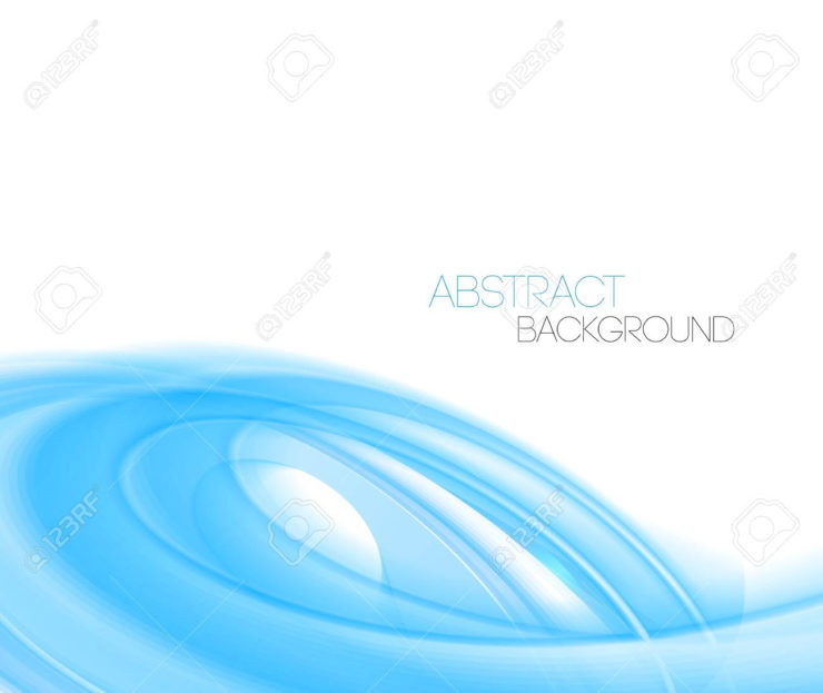 740x623 Interior Design Ideas. Stylish Blue Abstract Impressions To