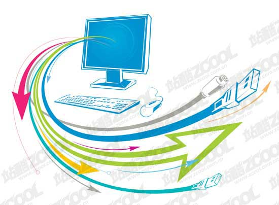 550x404 Computer Science And Technology Free Vector 4vector