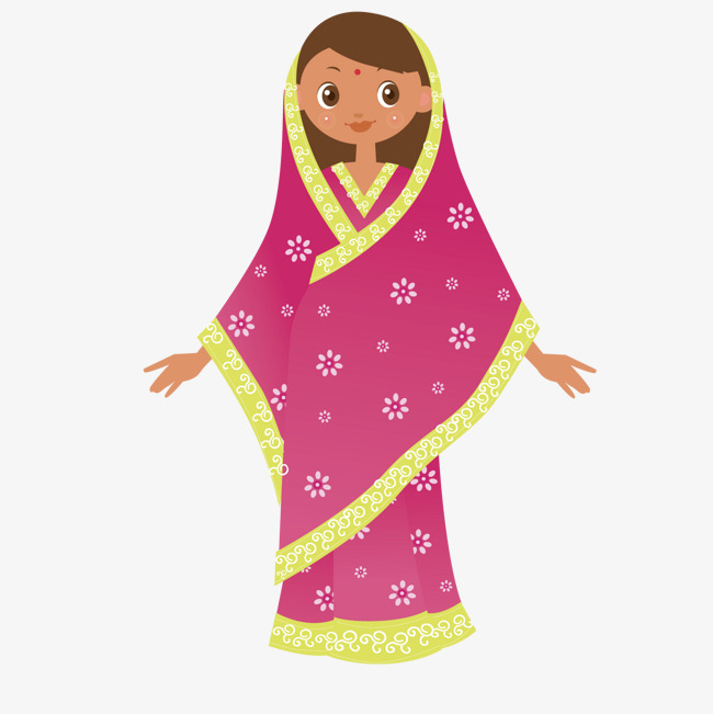650x651 Indian Girl, Girl Vector, India, Nation Png And Vector For Free