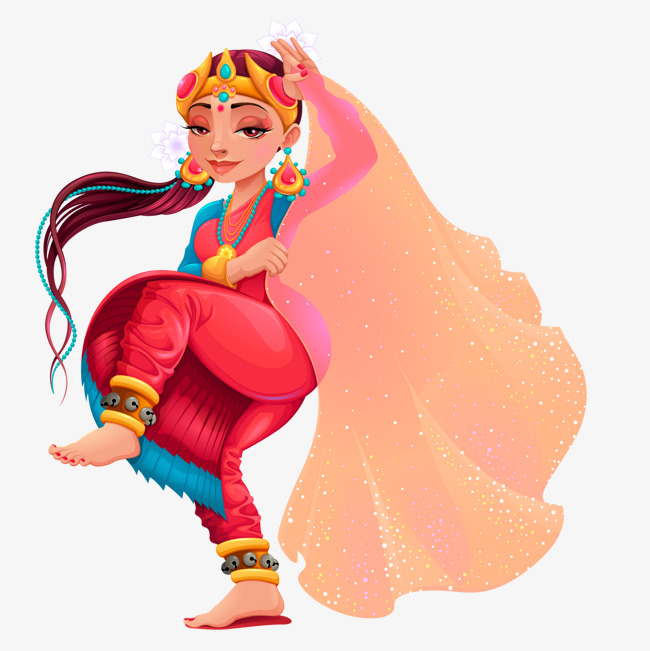 650x651 Vector Dance, Dance Vector, India, Dancing Girl Png And Vector For
