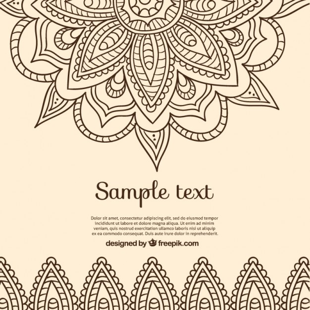 626x626 Background In Indian Design Vector Free Download