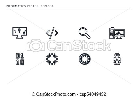 450x319 A Set Of Outline Vector Icons On A Theme School Education. Item