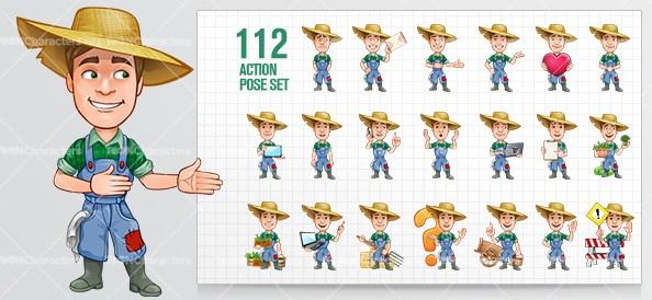 594x274 Job And Profession Vector Cartoon Characters