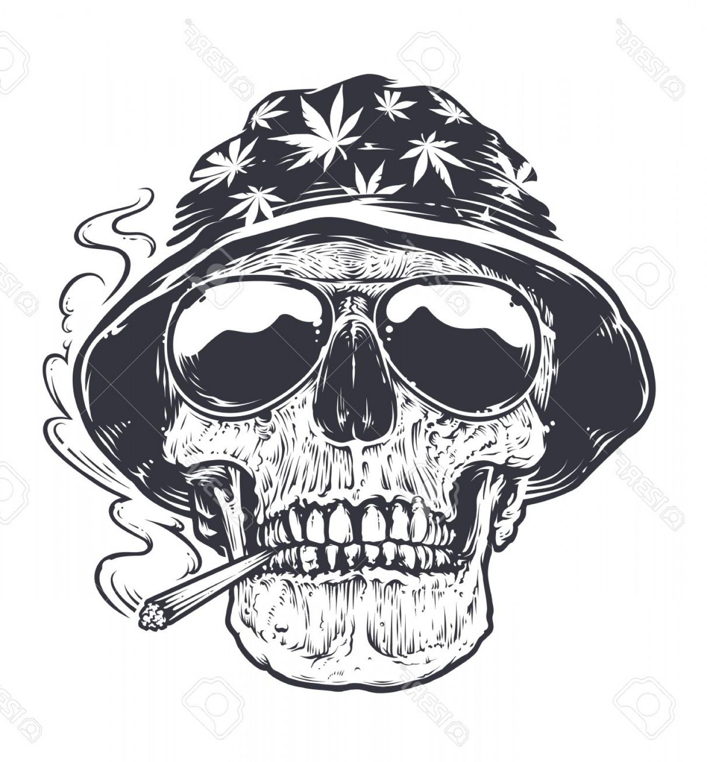 1447x1560 Photostock Vector Rastaman Skull Vector Art Skull In Hat With