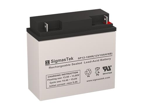 500x375 Vec012b Jump Starter Vector Battery (12v 18ah)