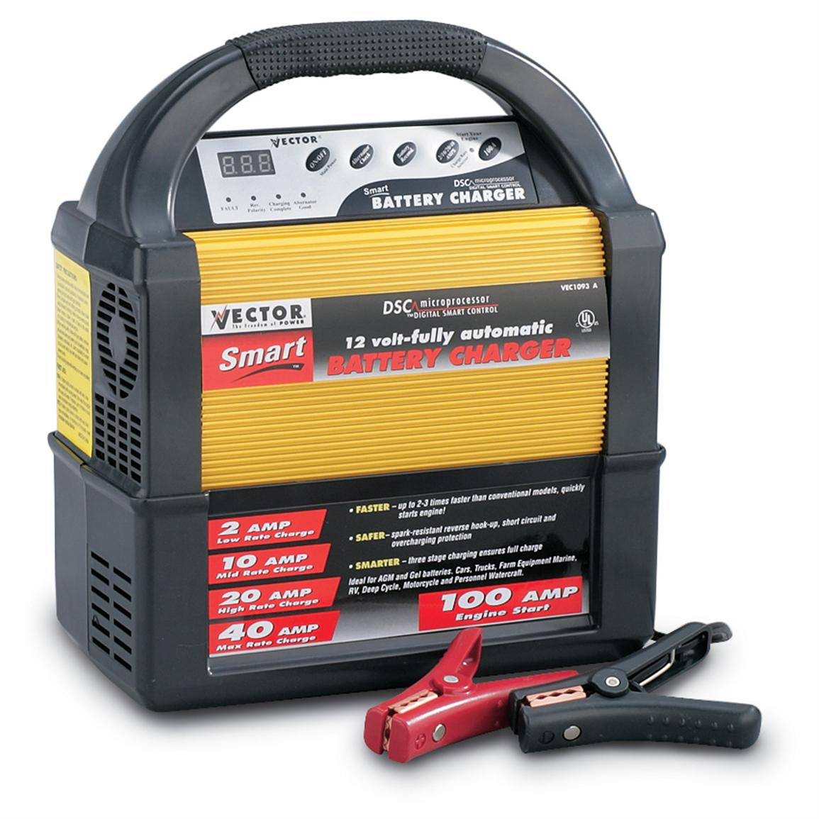 1155x1155 2102040 Amp Charger With 100 Amp Engine Start