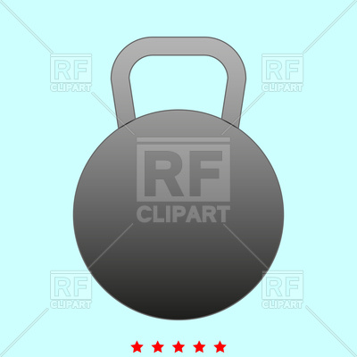 400x400 Kettlebell Icon Vector Image Vector Artwork Of Objects