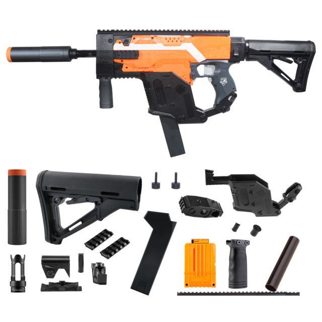 640x640 Worker Mod Kriss Vector Kits Combo 13 Items For Nerf Stryfe Modify