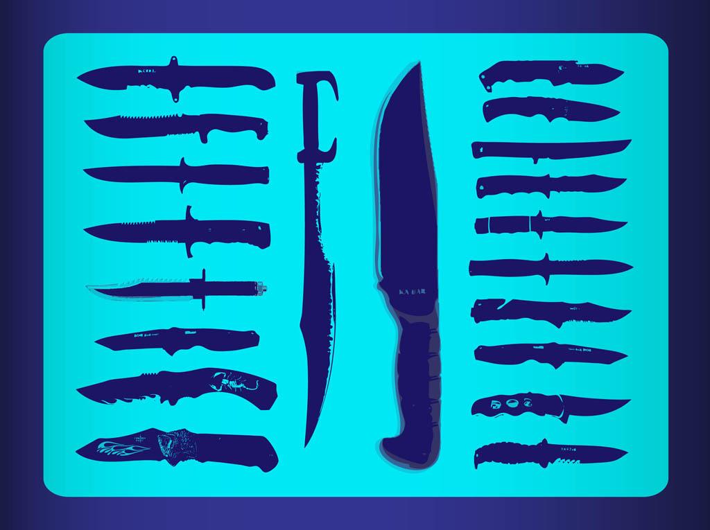 1024x765 Free Knives Vectors Vector Art Amp Graphics
