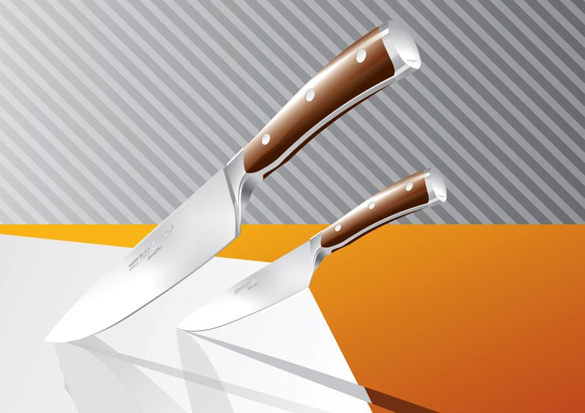 850x600 Kitchen Knives Vector Art Amp Graphics