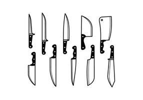 286x200 Knife Free Vector Art