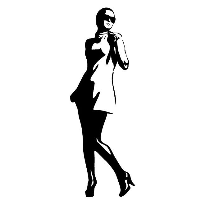 660x660 Free Lady Vector Illustration.eps Psd Files, Vectors Amp Graphics