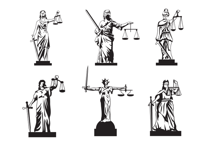 700x490 Free Lady Justice Vector