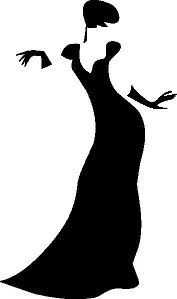 354x597 Romanov Dark Lady Clip Art Free Vector 4vector