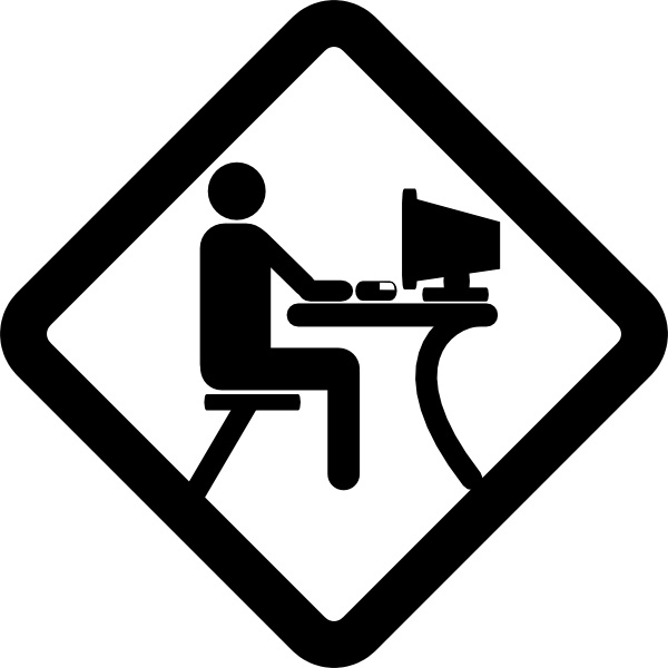 600x600 Lan Party Pictogram Clip Art Free Vector In Open Office Drawing