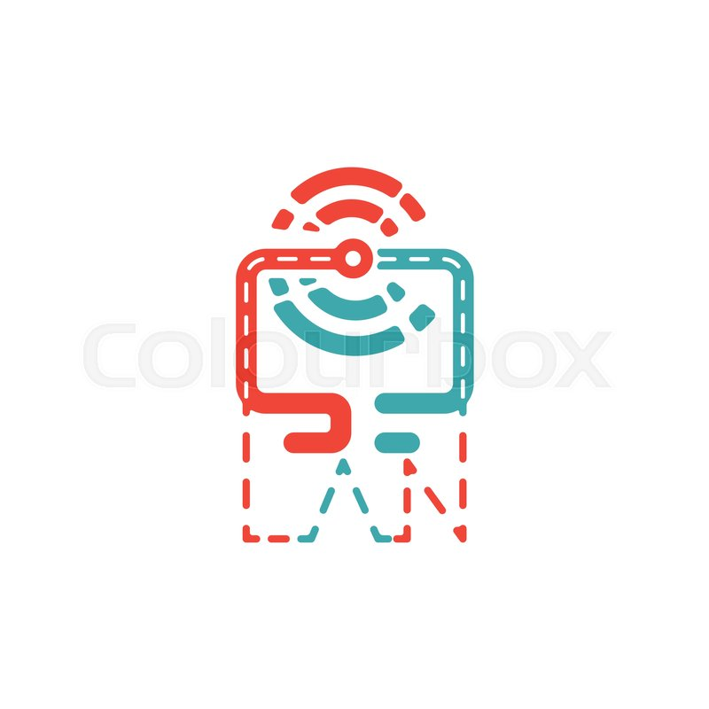 800x800 Wireless Data Network Icon On Smartphone Vector. Lan Icon And