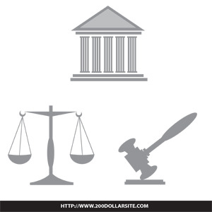 300x300 Law And Legal Illustration Free Vector