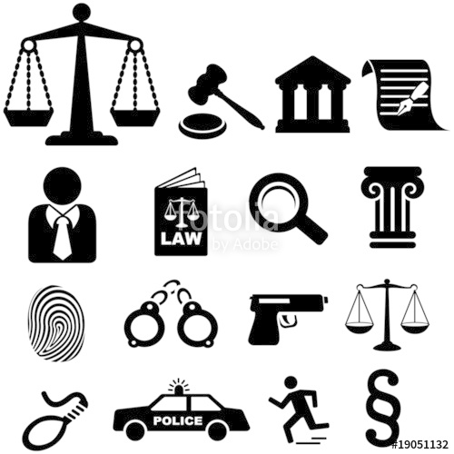 500x500 Law Icons Stock Image And Royalty Free Vector Files On Fotolia