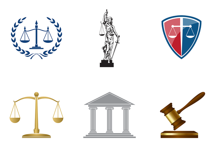 700x490 Classic Law Office Vector