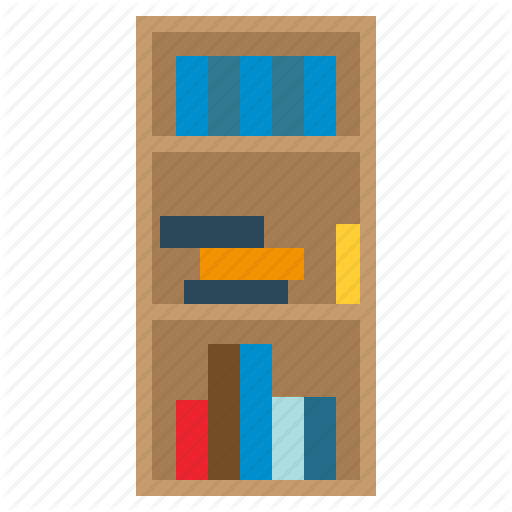 512x512 19 Library Vector Bookshelf Huge Freebie! Download For Powerpoint
