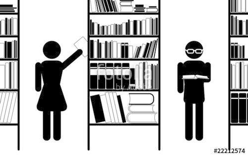500x315 Library, Vector Icon Stock Image And Royalty Free Vector Files On