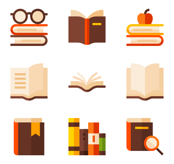600x564 Library Icons